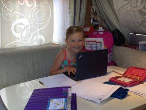 Unterricht am Laptop