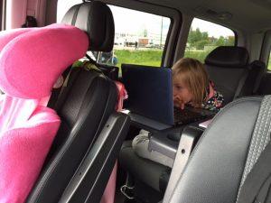 Unterricht im Auto